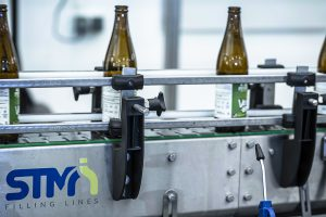 Conveyors for bottles cans and boxes